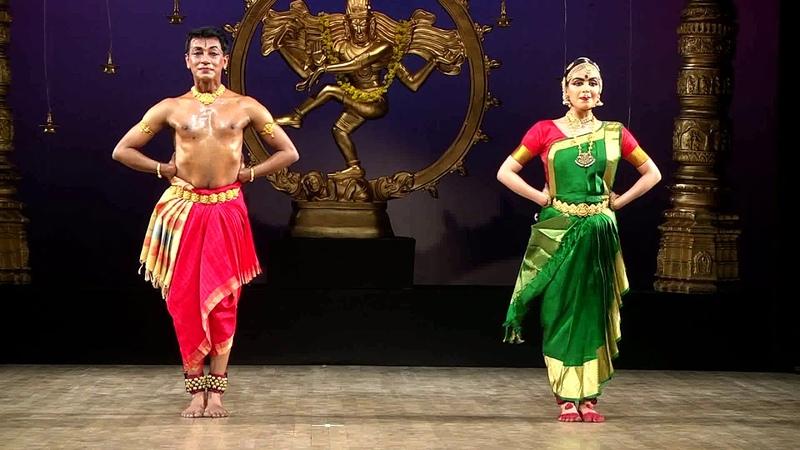 Angayarkanni Varnam danced By Shankar K and Ananga M