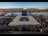 Самый большой матрас Длина 20 м, ширина 16 м вес 11 тонн. г.Касабланка Марокко. Компании Долидол