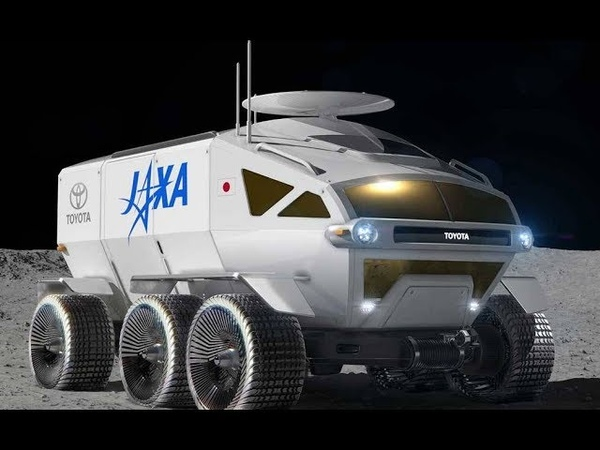 Lunar rover JAXA by Toyota, all terrain vehicle concept