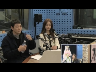 181010 Хо Ёнджи и Чжин Ун (Jeong Jinwoon, 2AM) на SBS Power FM Park Sohyun's Love Game.