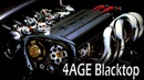 4AGE Blacktop Engine - 1st run after full O/H