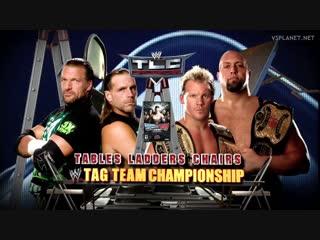 (WWE Mania) TLC 2009 Chris Jericho & Big Show (c) vs. D-Generation X (TLC Match for the Unified WWE Tag Team Championship)