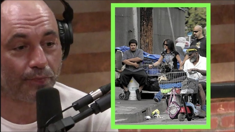 Joe Rogan What is Going on with the Homeless in LA