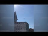 Репетиция авиационной части парада ко Дню ВМФ