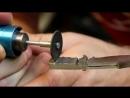 Парень превратил болт из нержавеющей стали в красивый маленький охотничий нож