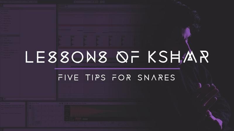 Lessons of KSHMR Five Tips for Snares