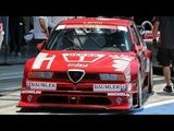 Alfa Romeo 155 V6 Ti DTM (1994) &amp Nicola Larini - Track action @ Monza Circuit - Pure Sound!