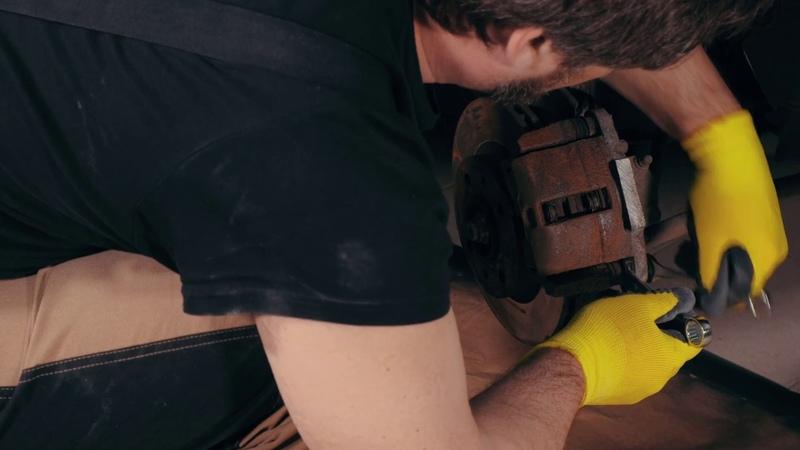Окраска тормозных суппортов эмалью KUDO KU-521x | Подробная видеоинструкция