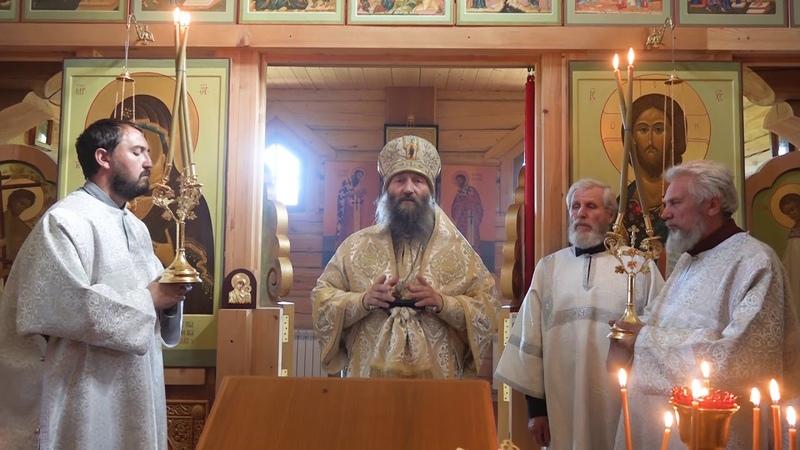 Проповедь епископа Гурия в престольный праздник Иоанно-Предтеченского скита