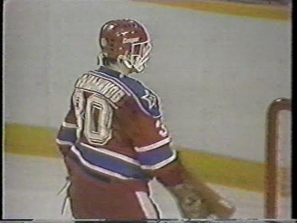 1985 Edmonton Oilers (Canada) - CSKA (Moscow, USSR) 3-6 Friendly hockey match (Super Series)