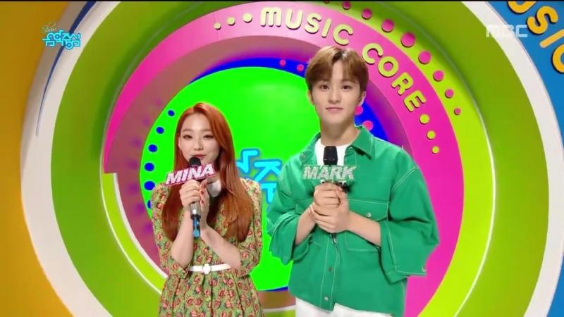 180714 MC Mark (NCT) @ Music Core