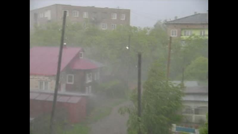 Сильный ливень 19 июня