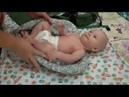 Как надевать использовать эргорюкзак Ergobaby вкладыш для новорожденного