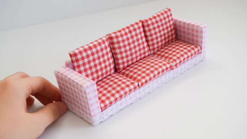 Minyatür Koltuk Yapımı | Kendin Yap Barbie Koltuk Yapımı