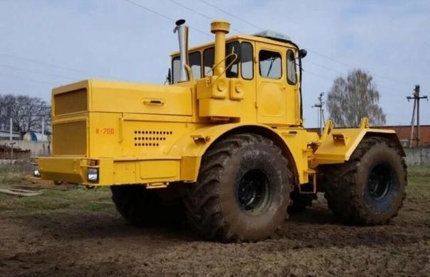 К-700 (трактор): история создания, особенности конструкции и технические характеристики