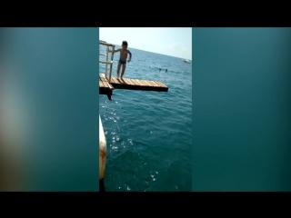 Мастерский прыжок от Мирона Мироненко