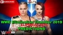 WWE Elimination Chamber 2019 Raw Womens Championship Ronda Rousey vs. Ruby Riott WWE 2K19
