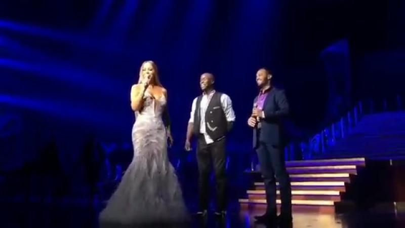 Mariah Carey-He said yes💍👨❤️👨 Congratulations Manwe and Sumeet!! 💖💖