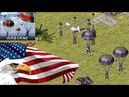 Red Alert 2 America Over Powered in New Oil in Center Map!