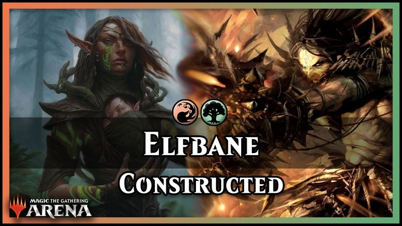 Elfbane! | ALL THE ELVES, ALL THE FIRE | Magic Arena