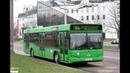 Автобус Минска МАЗ-103,гос.№ АК 4403-7, марш.68 (12.01.2019)