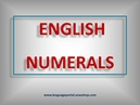 English Grammar by Csaba Mező Numerals