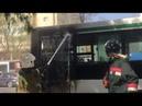 В Шымкенте горел автобус 74 маршрута