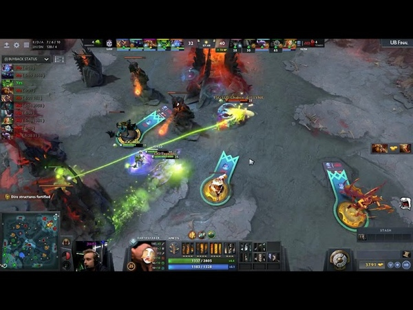 One of the most EPIC COMEBACK in the history of DOTA | OG vs PSG.LGD Game 3 | The International 8