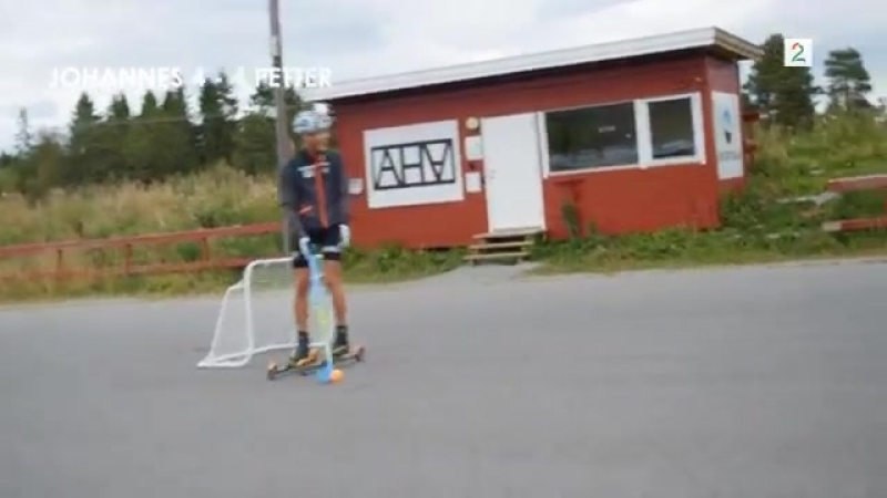 7. Northug mot Klæbo Rulleski-bandy [2018]