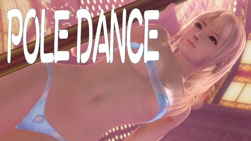 DOAX3 Marie Rose POLE DANCE (マリー・ローズ、水着:のりまきC、髪型:ロング) Norimaki C