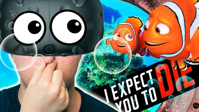 ПРИКЛЮЧЕНИЯ СЕКРЕТНОГО АГЕНТА КАК ТУПО УМЕРЕТЬ ПОД ВОДОЙ В VR HTC Vive I Expect You To Die
