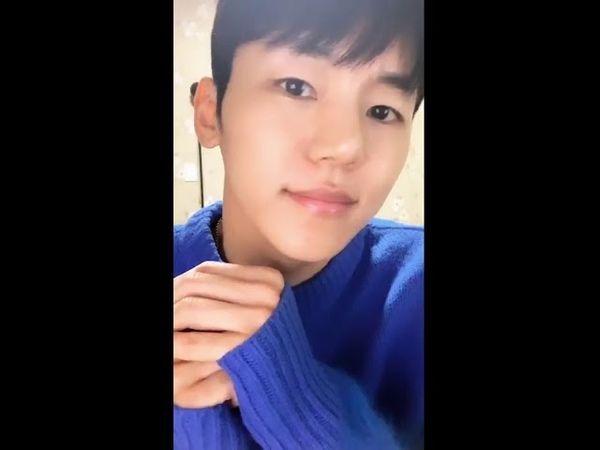 181201 Insoo (MYNAME) Instagram Live