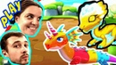 БолтушкА и ПРоХоДиМеЦ Выводят Новых ДРАКОНОВ! 150 Игра для Детей - Легенды Дракономании