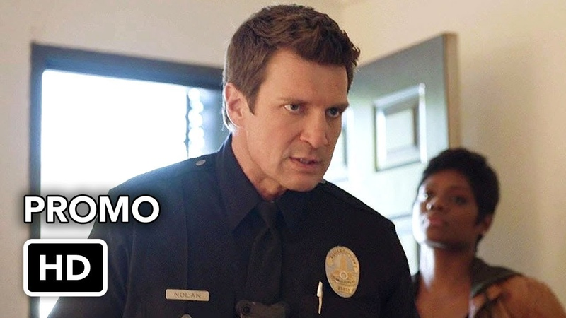 The Rookie 1x14 Promo Plain Clothes Day (HD) Nathan Fillion series