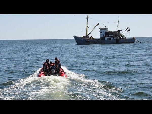 Українських рибалок затримали російські прикордонники - Перші про головне. День (13.00) за 11.09.18