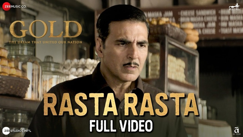 Rasta Rasta - Full Video | Gold | Akshay Kumar | Mouni Roy | Sachin - Jigar | Sukhwinder Singh