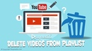 How to Delete Videos from Playlist on YouTube