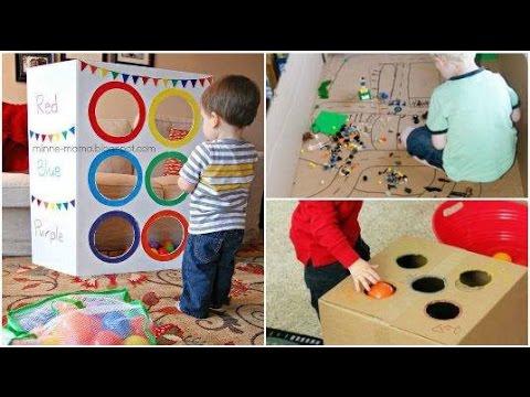 100 fáciles juegos que mantendrán entretenido a tu hijo un buen rato