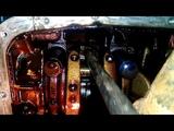 Chevrolet Lacetti, шевроле лачетти, ч.6 замена поршневых колец без снятия двигателя, ч.1 снятие.
