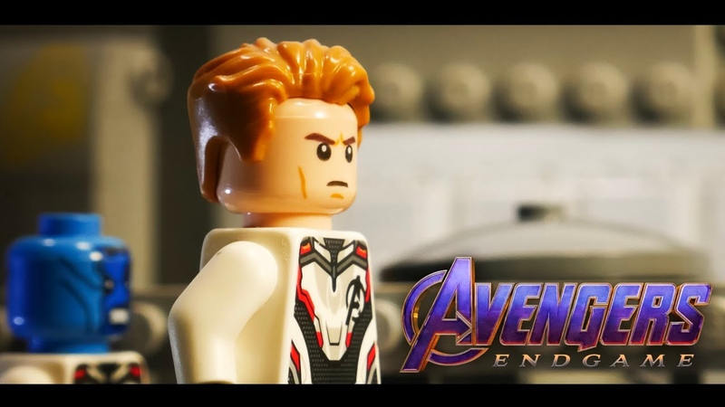 Avengers Endgame Trailer 2 In LEGO