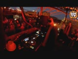 Denis A at the Fantomas Rooftop by Orange Rave Goa TV 03 08 2018