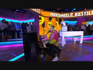 Marshmello and Bastille - 'Happier' live on 'GMA'
