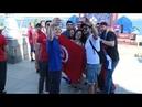 Болельщики сборных Англии и Туниса прибыли в Волгоград