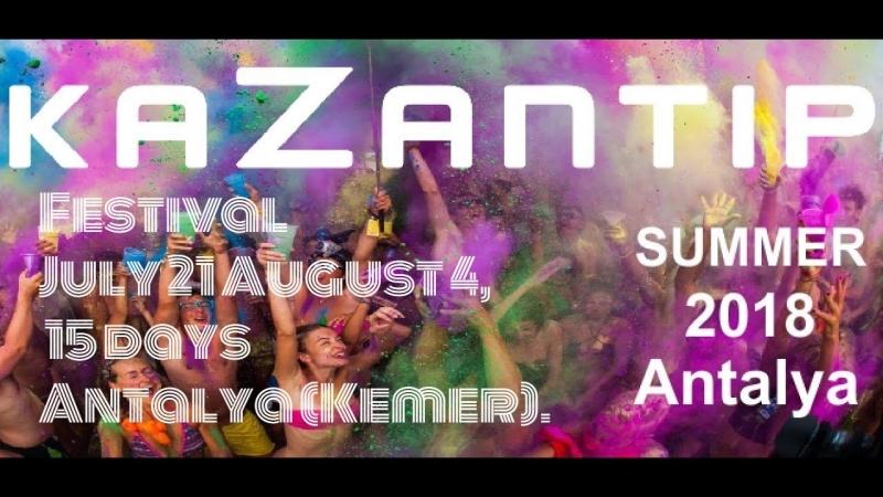 Festival KaZantip 2018 in Antalya Kemer July 21 August 4 15 days ✈🌴☀