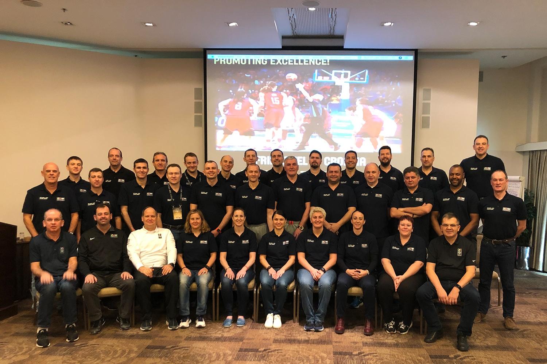 Ведущие московские арбитры приняли участие в семинаре для инструкторов ФИБА в Хорватии