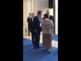 Мэр Москвы Сергей Собянин посетил стенд Группы компаний «Просвещение»