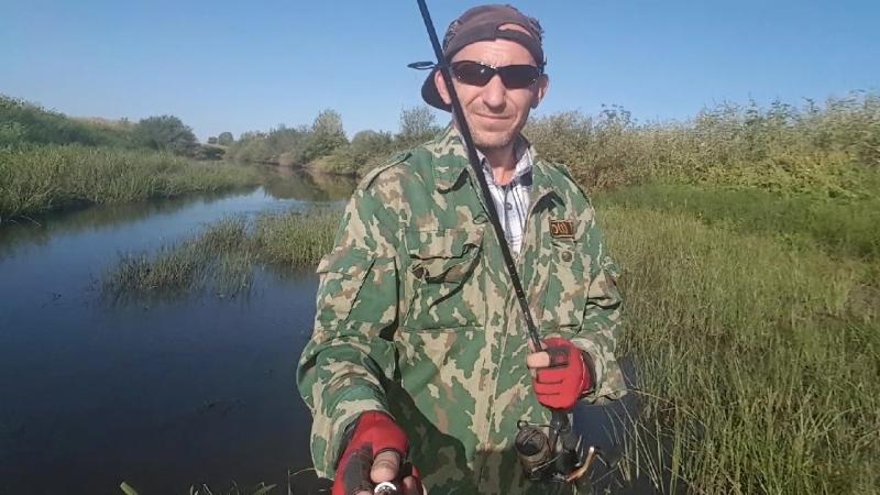 25 августа 2018 г. Волго-Ахтубинская пойма. Красивая природа и спиннинг.