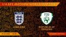 AFL18. World Cup. 1/4.  Ireland - England.