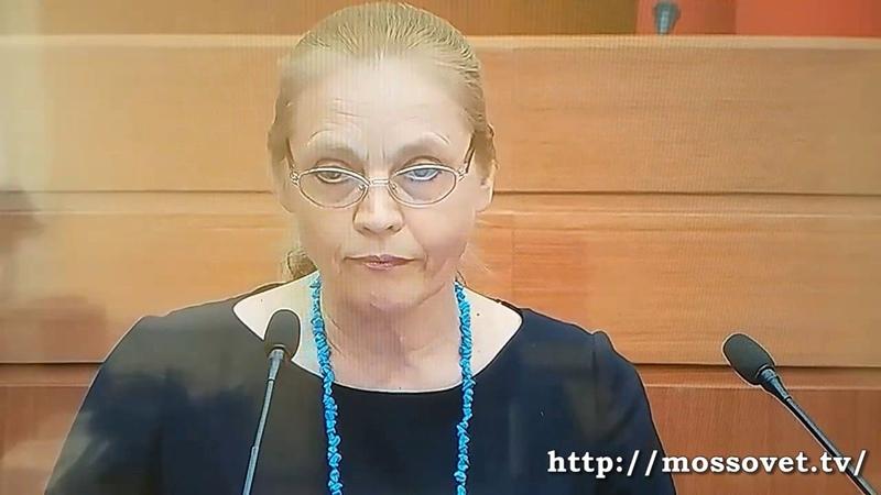 Выступление Елены Шуваловой в МГД о выборах мэра Москвы 2 июня 2018 г.