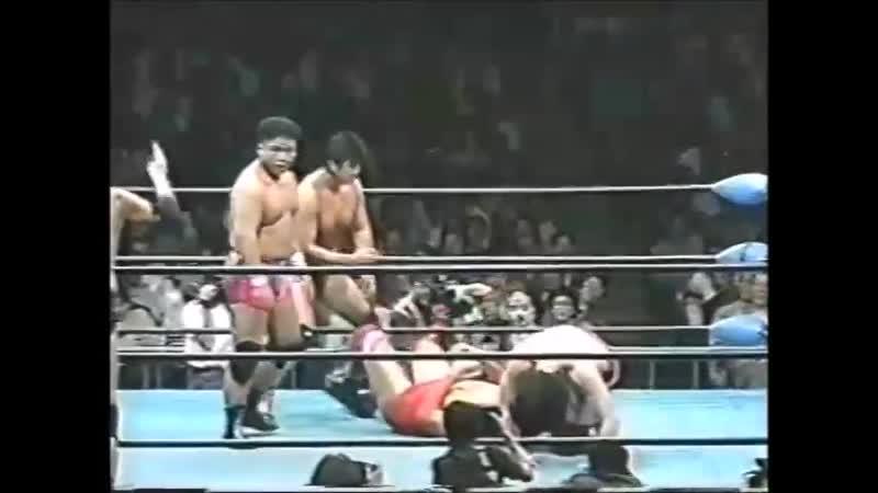 1996.06.07 - Giant Baba/Jumbo Tsuruta/Yoshinari Ogawa vs. Takao Omori/Tamon Honda/Jun Izumida [JIP]